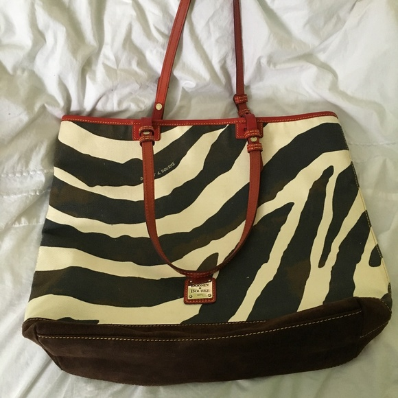 4de26d3d7bf3 Dooney   Bourke Handbags - Dooney   Bourke Zebra Tote